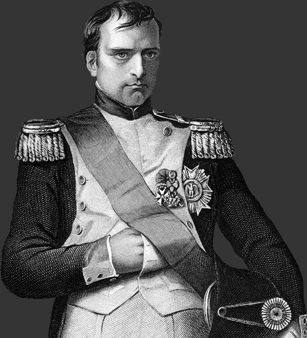 Grabado Napoleón